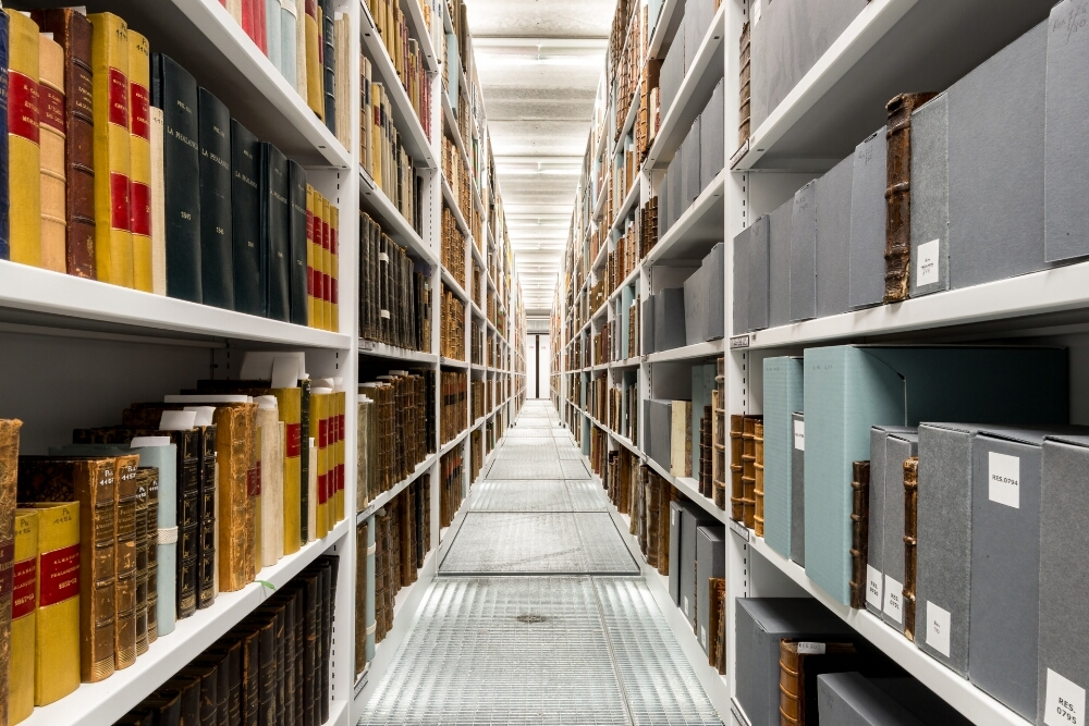 Ondergronds depot Boekentoren